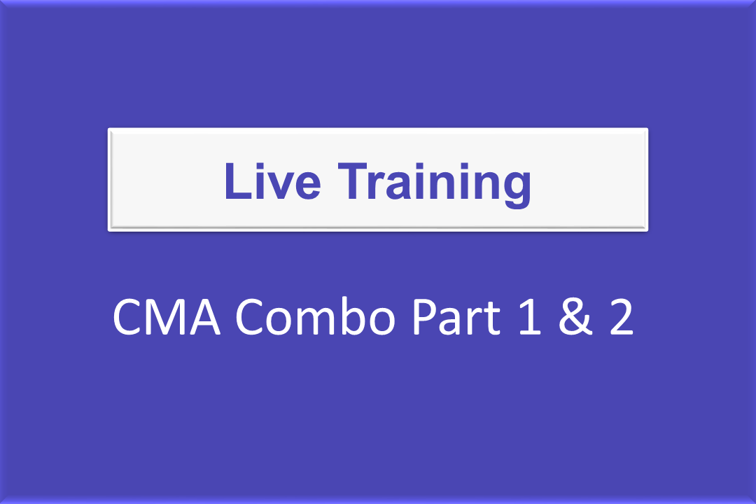Live Online Training For Part 1 & 2